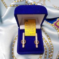 Серьги, золото 585 пробы, вес 3,6 гр