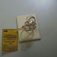 Красивое и изящное золотое кольцо 585 пробы